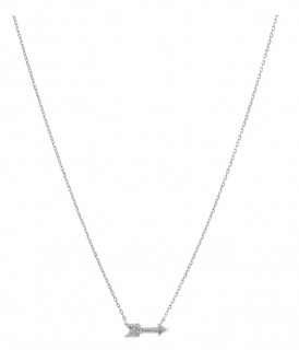 NEW-Arrow-Necklace-with-Diamonds-in-Sterling-Silver on sale