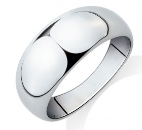NEW-Dome-Ring-in-Sterling-Silver on sale