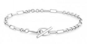 19cm-75-Belcher-Bracelet-in-Sterling-Silver on sale