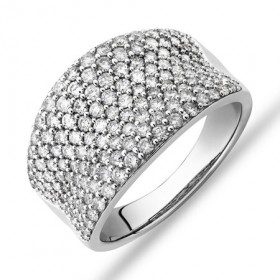 Pave-Classic-Ring-with-150-Carat-TW-Diamond-in-14ct-White-Gold on sale