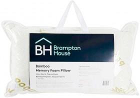 Brampton-House-Bamboo-Standard-Memory-Foam-Pillow on sale