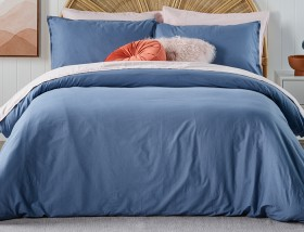White-Home-Washed-Cotton-Duvet-Cover-Set on sale