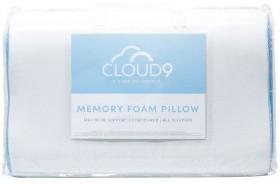 40-off-Cloud-9-Memory-Foam-Contour-Pillow on sale
