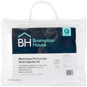 Brampton-House-Anti-Bacterial-Fitted-Mattress-Protector on sale
