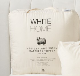 40-off-White-Home-NZ-300gsm-Wool-Mattress-Topper on sale