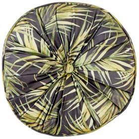 40-off-Koo-Home-Palms-Round-Velvet-Cushion-40-x-40-x-10cm on sale