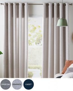 30-off-Oslo-Room-Darkening-Eyelet-Curtains on sale