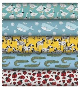 Printed-Plain-Cotton-Jersey on sale