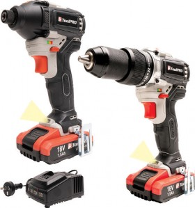ToolPRO-18V-Drill-Impact-Driver-Kit on sale