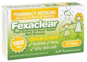 Fexaclear-180mg-30-Tablets on sale