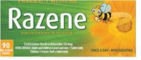 Razene-Allergy-Relief-90-Tablets on sale