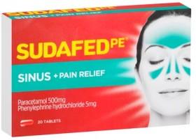 Sudafed-PE-Sinus-Pain-Relief-20-Tablets on sale