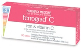 Ferrograd-C-Iron-Vitamin-C-30-Tablets on sale