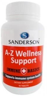 Sanderson-Immune-Basics-A-Z-Wellness-Support-90-Tablets on sale