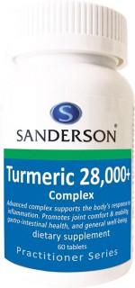 Sanderson-Turmeric-28000-Complex-60-Tablets on sale