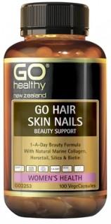 GO-Healthy-GO-Hair-Skin-Nails-100-Capsules on sale