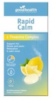 Good-Health-Rapid-Calm-30-Tablets on sale