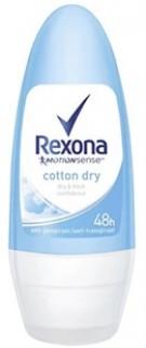 Rexona-Womens-Cotton-Dry-Roll-on-50mL on sale