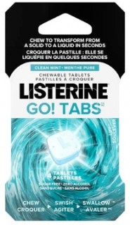 Listerine-GO-Tabs-Clean-Mint-4-Pack on sale