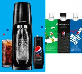 Sodastream-Spirit-Machine-Pepsi-Starter-Pack-Black-60L on sale