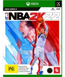 Xbox-Series-X-NBA-2K22 on sale