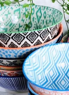 Morocco-Pasta-Bowl-21cm on sale