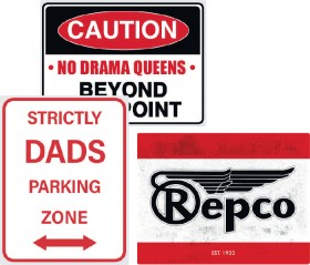 Repco-Tin-Signs on sale