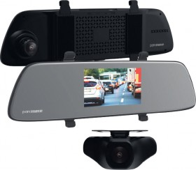 Parkmate-50-Clip-on-Mirror-Monitor-with-Built-in-Cameras on sale