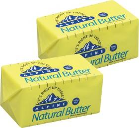 Alpine-Butter-500g on sale