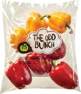 Odd-Bunch-Capsicums-750g on sale