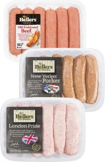 Hellers-Fresh-Sausages-6-Pack on sale