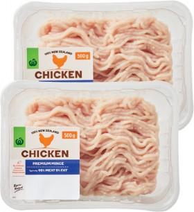 Countdown-Premium-Chicken-Mince-500g on sale