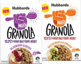 NEW-Hubbards-Be-Mighty-Granola-400g on sale