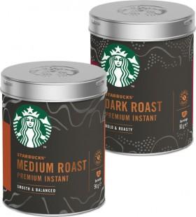 Starbucks-Roast-Instant-Coffee-Tin-90g on sale