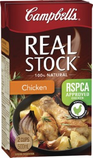 Campbells-Real-Stock-500ml on sale