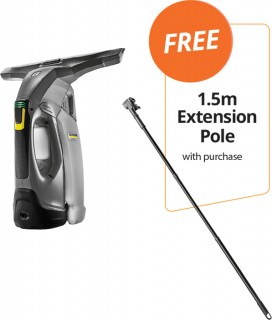 Karcher-WVP-10-Professional-Window-Vacuum-FREE-15M-EXTENSION-POLE-WITH-PURCHASE on sale