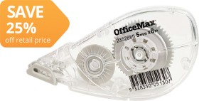 OfficeMax-Correction-Tape on sale