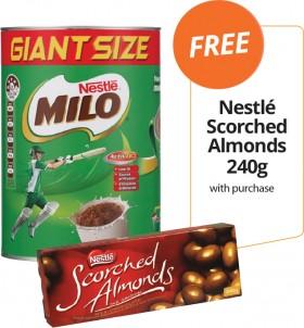 Nestl-Milo-FREE-NESTL-SCORCHED-ALMONDS-240G-WITH-PURCHASE on sale