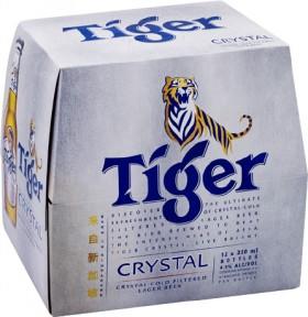Tiger-Beer-or-Crystal-12-x-330ml-Bottles on sale