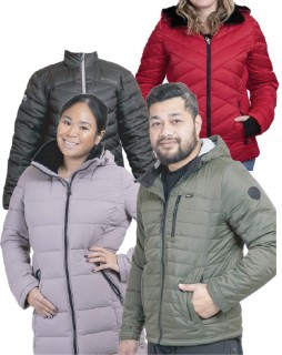 Selected-Womens-Mens-Jackets on sale