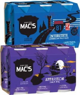 Macs-Beer-Bottles-or-Cans-6-Pack on sale
