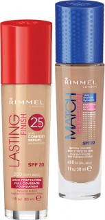 Rimmel-Lasting-Finish-or-Match-Perfect-Foundation-30ml on sale