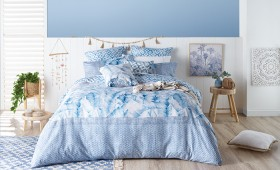 NEW-Ombre-Home-Weathered-Coastal-Duvet-Cover-Set on sale