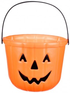 40-off-Spooky-Hollow-Plastic-Treat-Buckets on sale