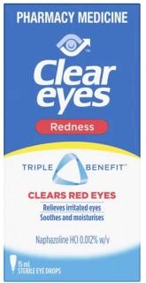 Clear-Eyes-Redness-Eye-Drops-15mL on sale