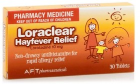 Loraclear-Hayfever-Relief-30-Tablets on sale