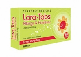 Lora-Tabs-Allergy-Hayfever-10mg-30-Tablets on sale