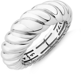 Sculpture-Croissant-Ring-In-Sterling-Silver on sale