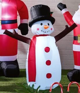 30-off-Jolly-Joy-135cm-Inflatable-Snowman on sale