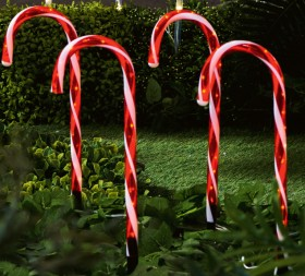 30-off-Jolly-Joy-Candy-Cane-Solar-Garden-Stake-5-Pack on sale